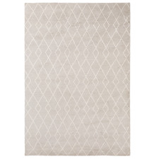 Dove Trace Wool-Blend Rug