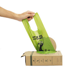 200 Piece Tie Handle Dog Waste Bags