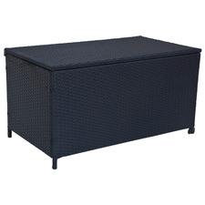 Gordon PE Wicker Outdoor Storage Box