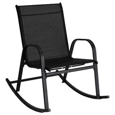 Arden High Back Outdoor Rocking Chair