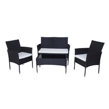4 Seater Wynford PE Wicker Outdoor Sofa Set