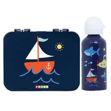 Penny Scallan 2 Piece Anchors Away Bento Box & Drink Bottle Set