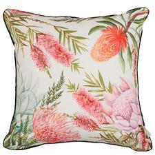 Bush Flowers Premium Outdoor Cushion