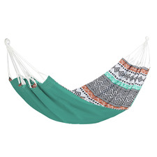Tribal Print Cotton Single Hammock