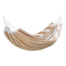 Herringbone Print Cotton Double Hammock