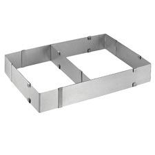 Kuchenprofi Patisserie Adjustable Rectangular Cake Ring