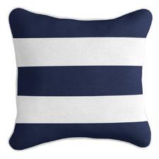 Classic Stripe Linen-Blend Cushion Cover