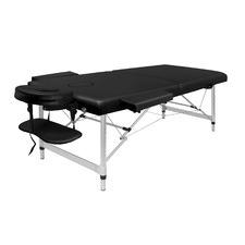 Carson 75cm Faux Leather 2 Fold Lift Up Massage Table