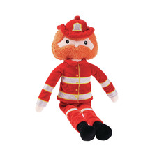 Red Fireman Steve Plush Toy