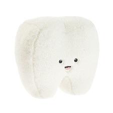 White Happy Tooth Plush Toy