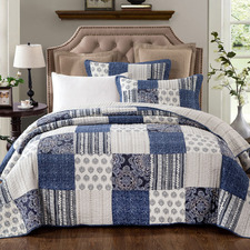 Horizon Cotton Coverlet Set