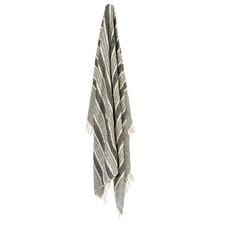 Stripe & Diamond Moussa Cotton Throw