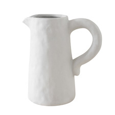 Ivory Aspen Ceramic Decorative Jug