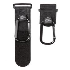 2 Piece The Nappy Society Stroller Clip Set