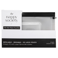 The Nappy Society Wet Wipe Pouch (Set of 2)