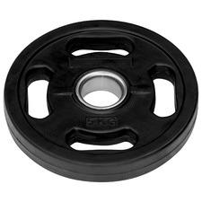 Black Rubber Heavyweight Plate