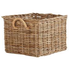 Natural Bedtime Hampton Rattan Storage Basket