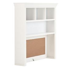 White Classic Desk Hutch