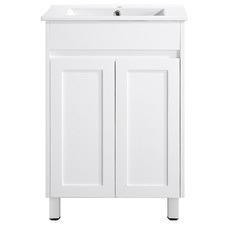 Quinn 2 Door Bathroom Vanity with Basin