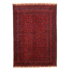 Kundus Hand-Knotted Wool Rug