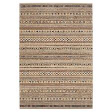 Beige Berber Power-Loomed Rug