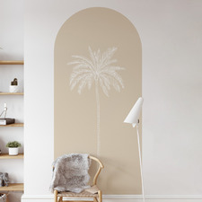 Sand Paradise Palm Reusable Archway Decal