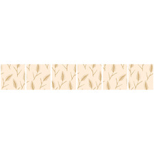 Feather Oat Tile Stickers (Set of 6)