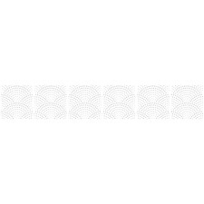 The Scallop Tile Stickers (Set of 6)