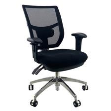 Whirl Handwheel Adjustable Back Control Office Chair