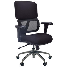 Pivot Fabric & Mesh Control Office Chair