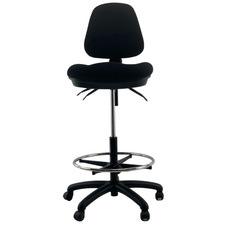 Waves Ratchet Adjustable Medium Back Drafting Chair