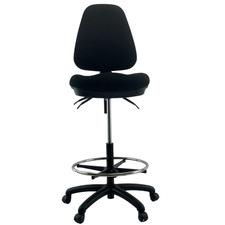 Waves Ratchet Adjustable High Back Drafting Chair