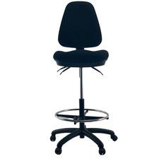Waves Handwheel Adjustable High Back Drafting Chair