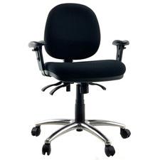Duke Handwheel Adjustable Medium Back Executive Office Chair