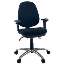 Luxocity Handwheel Adjustable High Back Executive Office Chair