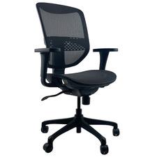 Black Macro Mesh Gaming Chair