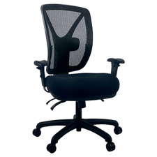 Vault Fabric Seat Mesh Back Gaming Chair