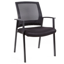 Aragon Stackable Visitor Chair with Armrests