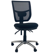 York Fabric Seat Mesh Back Computer Office Chair