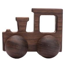Hand Made Walnut Toy Train