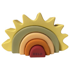 5 Piece Sun Silicone Stacking Teether Set