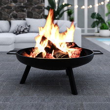 Cambria Round Steel Fire Pit