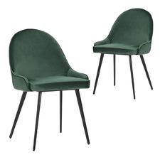 Dane Velvet Dining Chairs (Set of 2)