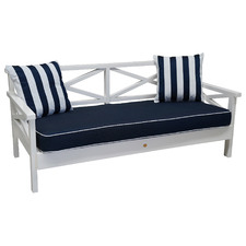 Hand-Crafted Hamptons Style Outdoor Daybed