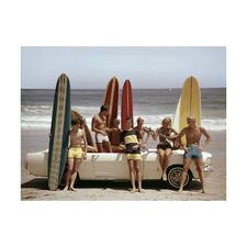 Summer Beach Ride II Printed Wall Art