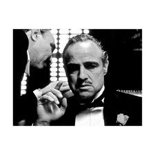 Don Corleone Printed Wall Art
