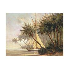 Bay of Palms Printed Wall Art