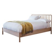 Julio Solid Oak Spindle Bed Frame