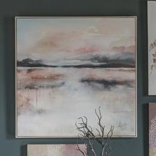 Bright Dawn Framed Canvas Wall Art