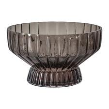 Grey Tyler Glass Decorative Bowl